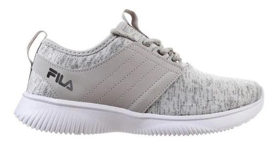 Zapatillas Fila Slide Fitness Gri De Mujer