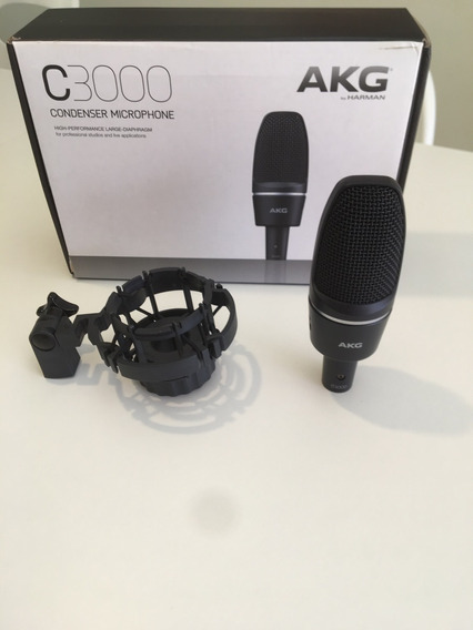 Microfone Akg C3000 Condensador