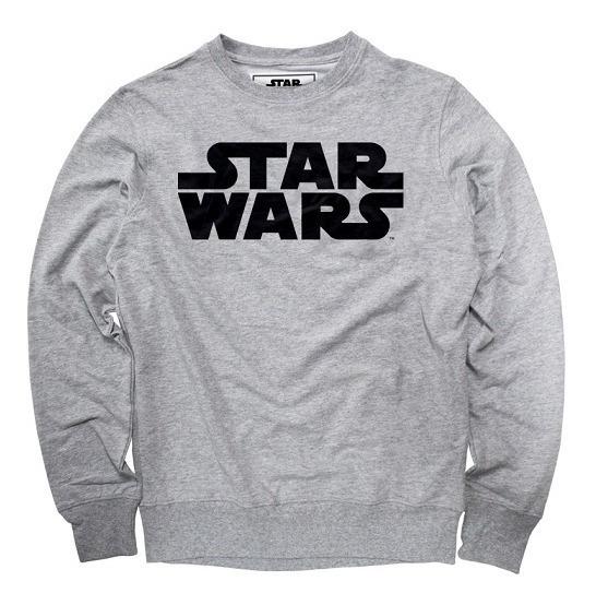 Sudadera Hombre Star Wars Logo Disney Pullover Máscara De Lá
