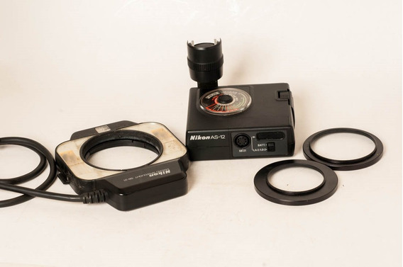 Flash Nikon Macro Sb 21 Controladora As12 Para Nikon F3