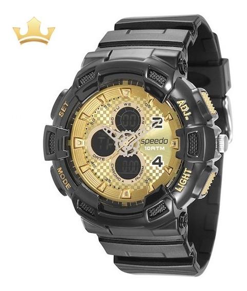 Relógio Speedo Masculino 65075g0evnp3 Com Nf