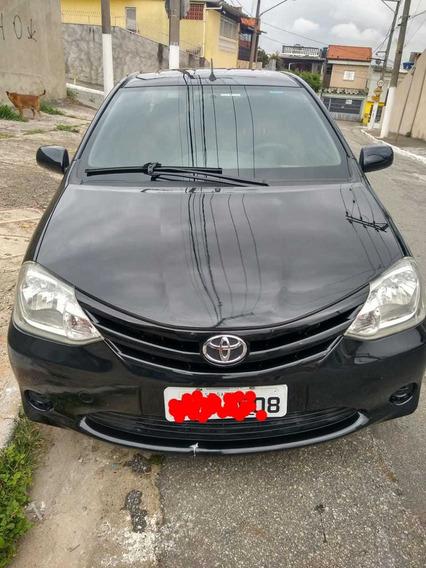 Vendo Toyota/etios Xs/sedan 1.5/flex/16v/4p/mec/2012