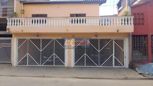 Excelente Sobrado Com 4 Dormitórios À Venda, 308 M² - Vila Carmela Ii - Guarulhos/sp - Ai12219