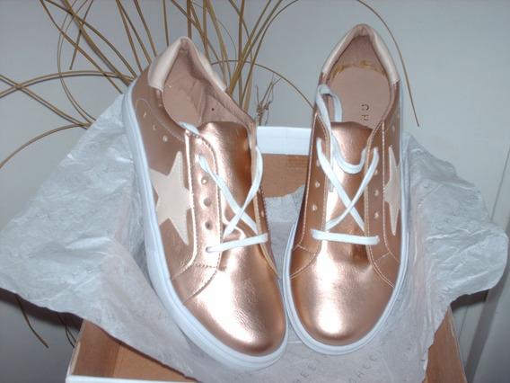 Zapatillas Cheetah Star - Bronce (doradas)