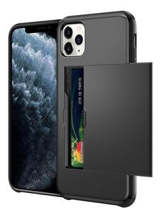 Capa Carteira Case iPhone 11 Pro Porta Cartão 5.8 Tela