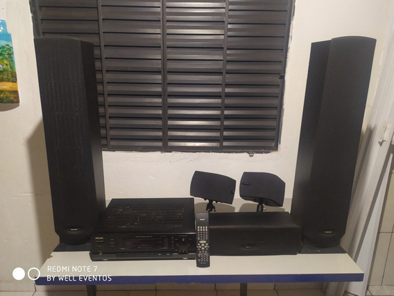 Receiver Homer Theater 5.1 Fr 752 Completo