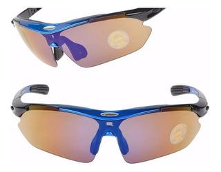 Oculos Rock Bros 5 Lentes Bicicleta Ciclismo Bike Polarizado