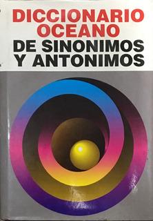 Libro Diccionario Oceano Sinonimos Y Antonimos Plurilingüe