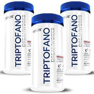 Triptofano Original Ansiedade, Depressão E Estresse- 3 Potes