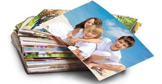 Revelação De 100 Fotos 10x15 Qualidade Profissional