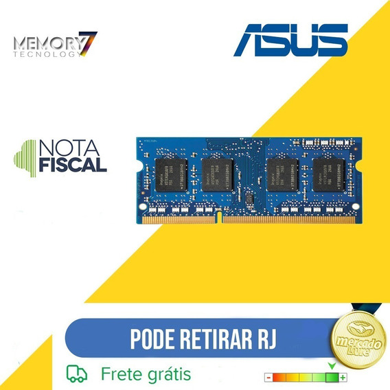 Memória 4gb Ddr3 Notebook Asus Eee Pc W7j Mm1np2