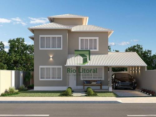 Casa À Venda, 115 M² Por R$ 600.000,00 - Costazul - Rio Das Ostras/rj - Ca1138