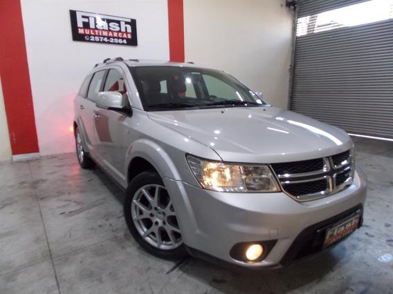 Dodge Journey 3.6 Rt 2012 Top Couro + Teto + Dvd Traseiro