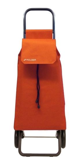 Carrito Compra Rolser Saquet Color Mandarina