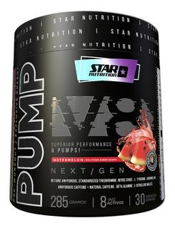 Pre Entreno Pump V8 Next Gen Star Nutrition X 285 G
