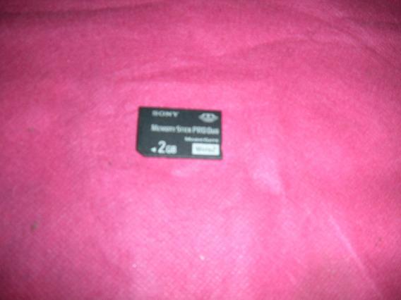 Cartão Memória 2 Gb Memory Card Stick Pro Duo Magicgate Sony