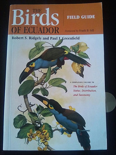 Guía De Campo De Las Aves Del Ecuador Versión Inglés