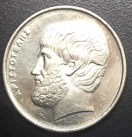 Moneda De 5 Apaxmai Grecia 1988