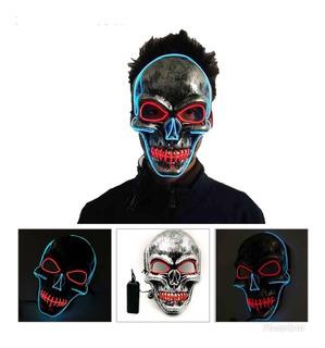 Mascara Caveira De Led