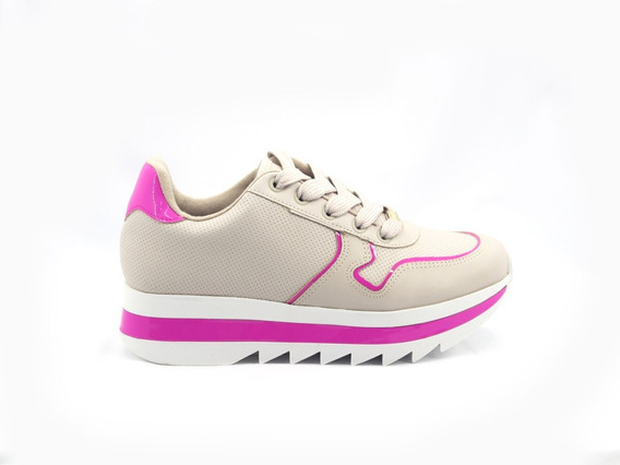 Tenis Feminino Vizzano Flatform Chunky Sneakers