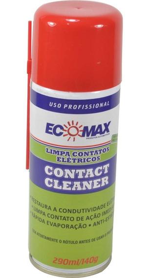 Limpa Contato Spray Eletronico Elétrico Ecomax 290ml