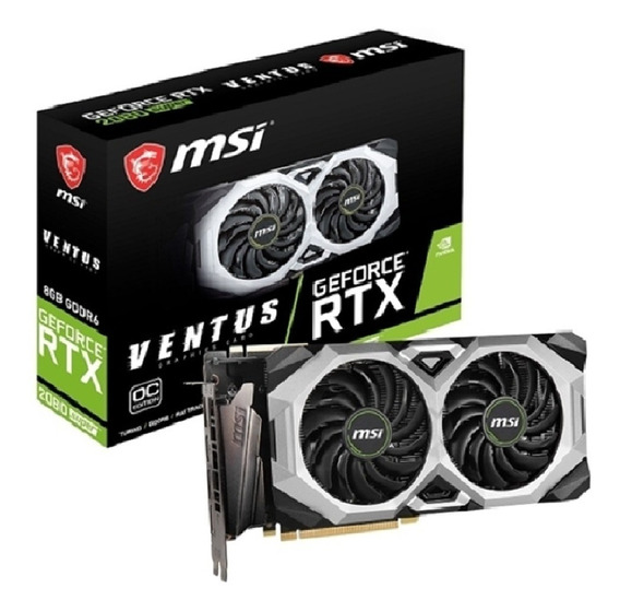 Placa De Video Msi Geforce Rtx 2080 Super Ventus Xs Oc Gddr6