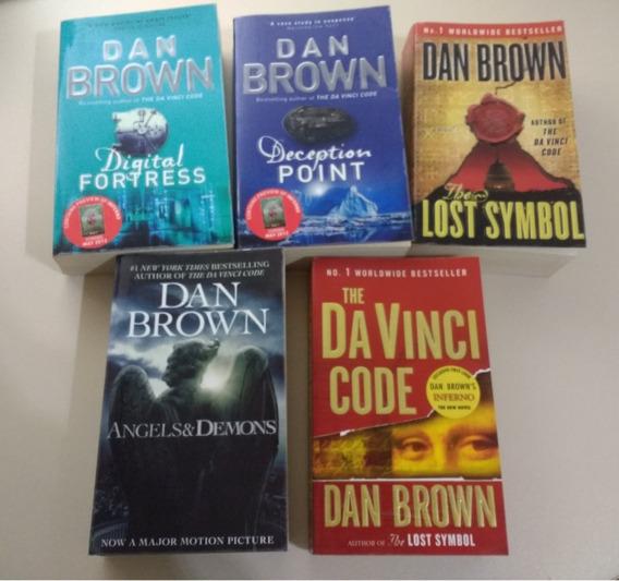Livros Dan Brown - Coleção Em Inglês