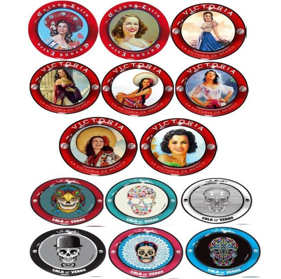 Portavasos De Coleccion Marcas De Cervezas Corona Victoria
