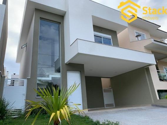Casa Nova Com Piscina À Venda No Condomínio Quinta Das Atírias, Bairro Eloy Chaves Em Jundiaí/sp. - Ca01470