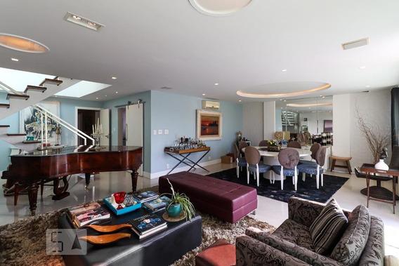 Apartamento No 3º Andar Mobiliado Com 4 Dormitórios E 3 Garagens - Id: 892961529 - 261529