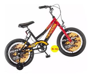 Bicicleta Futura Rodado 16 Bmx Freno Acero Consulte Color