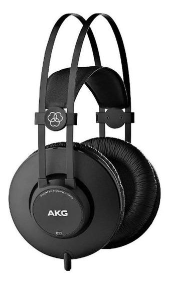 Fone Ouvido Akg Over - Ear K52 Profissional K1 Loja C/ Nota