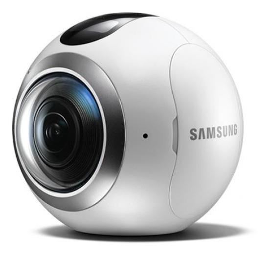 Câmera Gear 360º Samsung Sm-c200