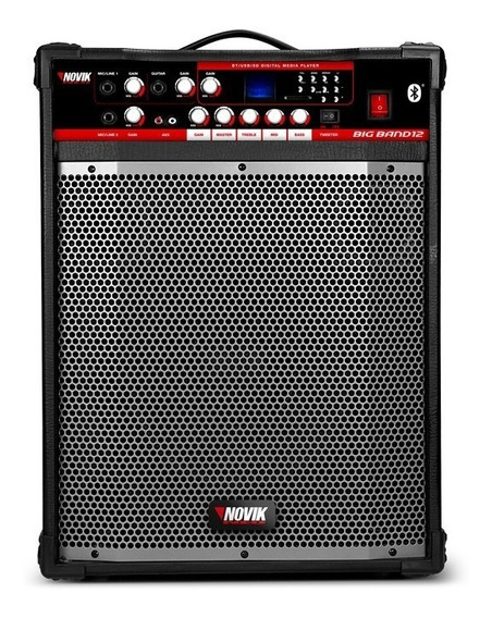 Caixa Multiuso Novik Big Band 12bt 120rms C/ Bluetooth