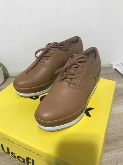 Calçado Sapato Feminino Usaflex Número 36 - Novo Tênis