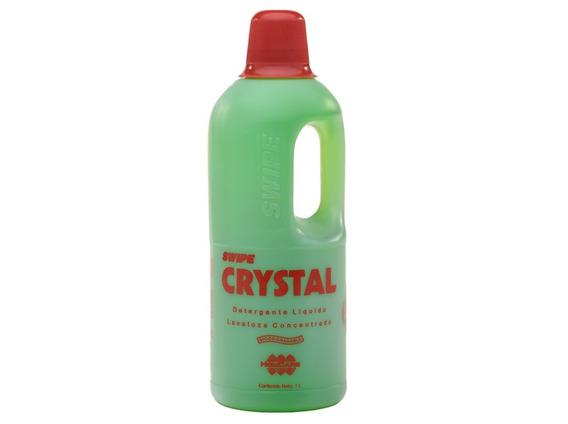 Jabón Líquido Para Lavar Trastes Swipe Crystal 1l