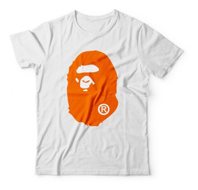 Camisa Bape Masculina Supreme Gorila By Bathing Swag Hype