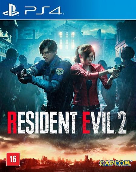 Resident Evil 2 Ps4 Locação 10dias Português