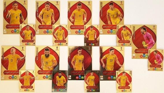 9 Cards Xxl Copa 2018 Limited Edition Australia Tim Cahill +