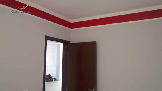 Apartamento Com 2 Dormitórios Para Alugar, 47 M² Por R$ 900/mês - Jardim Novo Ii - Mogi Guaçu/sp - Ap0174