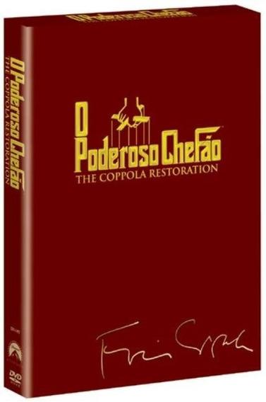 O Poderoso Chefão - Trilogia - 3 Dvds - Lacrado