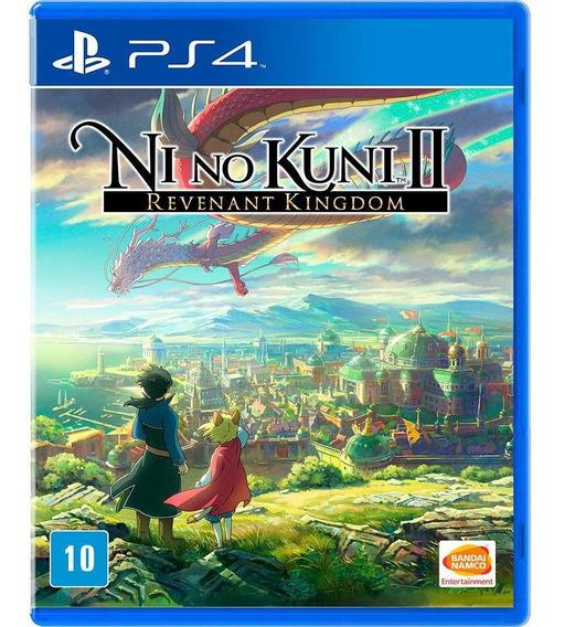 Ni No Kuni Ii: Revenant Kingdom - Ps4 Mídia Físca Lacrado