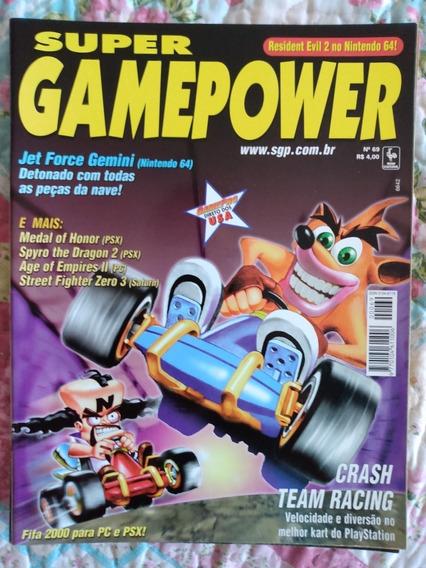 Revista Super Gamepower Nº 69 Medal Of Honor Resident Evil 2