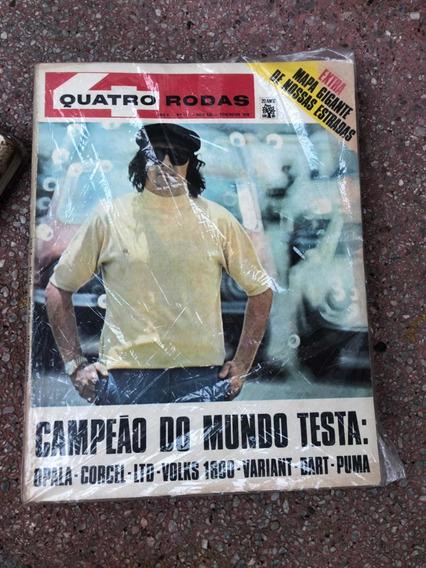 Quatro Rodas 115 Dodge Opala Jackie Stewart Ltd Pumafev 1970