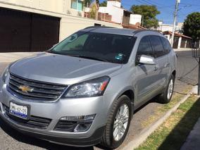Chevrolet Traverse Lt Automatica Plata 2014