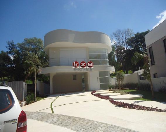 Casa Nova Alto Padrão 4 Suítes Condomínio Reserva Colonial Valinhos - Ca1597 - 31964168