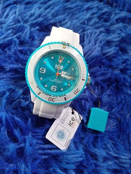 Relógio De Pulso Ice Watch Original Com Pulseira De Silicone