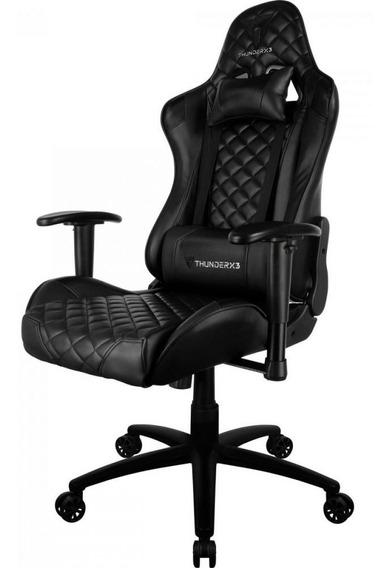 Cadeira Gamer Profissional Tgc12 Preta Thunderx3