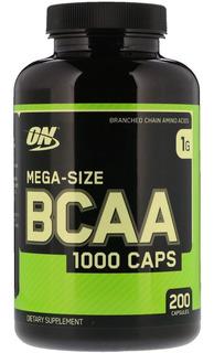 Bcaa 1000 Optmus Nutrition 200 Capsulas