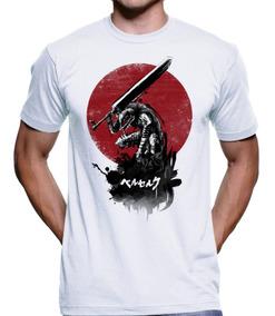 Camiseta Berserk Guts Anime Nerd Geek Akira Dbz 4190